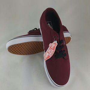 Vans Men Low-Top Sneakers, Red  11